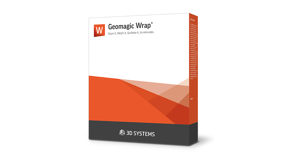 Software de digitalização Geomagic Wrap 3D