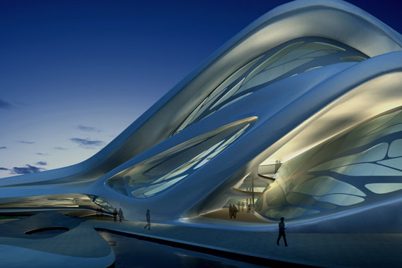 Performing arts centre by Zaha Hadid