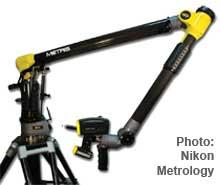 Nikon Mtrology scanner