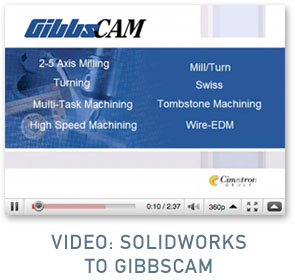 Video: SolidWorks to GibbsCAM