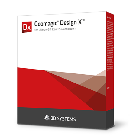Software de digitalização Geomagic Design X para CAD